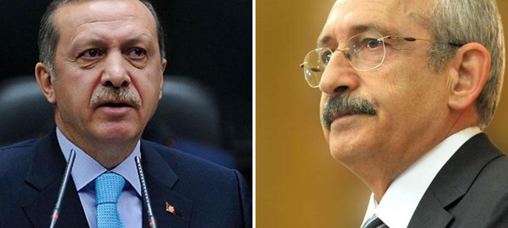 Erdoğan and Kılıçdaroğlu