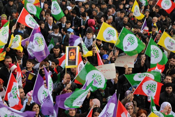 HDP supporters