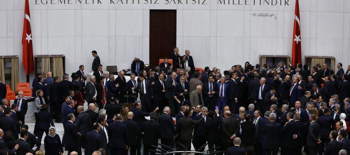 Amid surveillance, Turkish MPs debate more powers for Erdoğan
