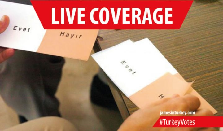 LIVE: Turkey votes April 2017